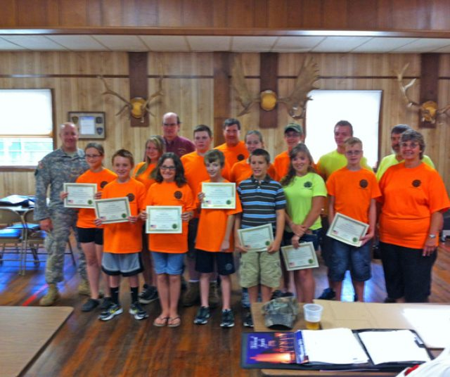 youth shooting team