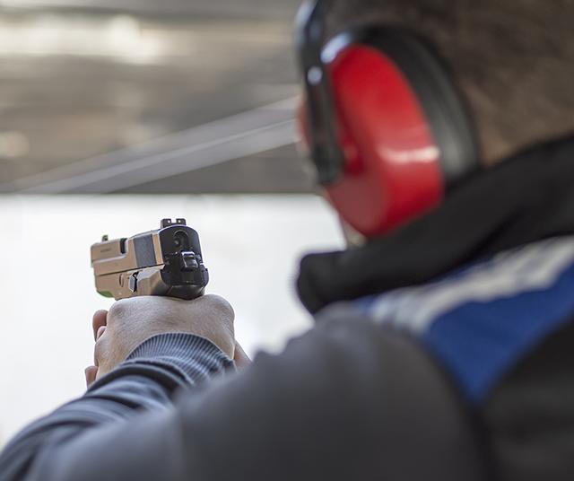 handgun range